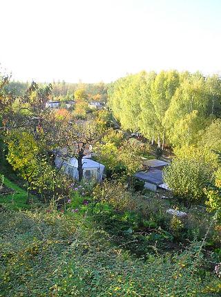 Gartenanlage - Einblick von oben