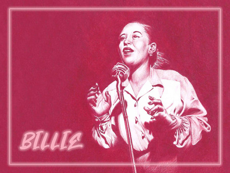 Portrait Highlight - Billie Holiday - American jazz and swing singer