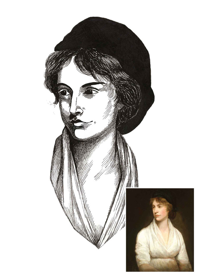 Pen Portrait - Mary Wollstonecraft