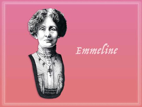Portrait Highlight - Emmeline Pankhurst Political activist, founder & leader of the WSPU