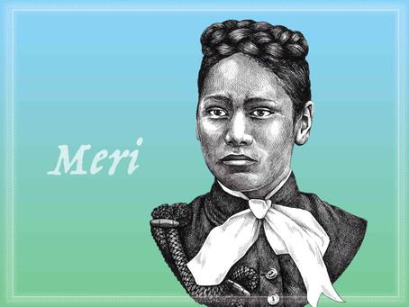 Portrait Highlight - Meri Te Tai Mangakāhia - campaigner for women's suffrage in New Zealand