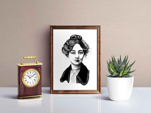 Sylvia Pankhurst Print