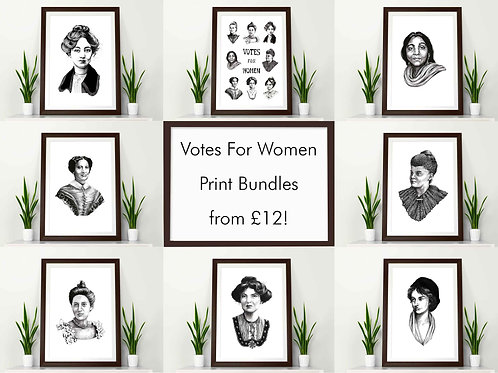 Votes For Women Print Bundle