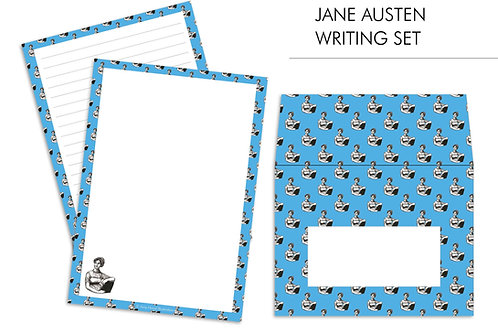 Jane Austen Feminist Letter Writing Paper Set