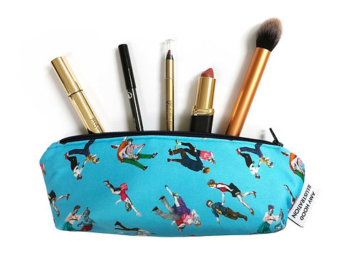 Small Lindy Hop Makeup Bag Front View