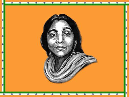 Portrait Highlight - Sarojini Naidu - Indian political activist and poet