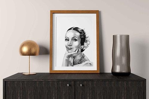 Dolores del Río Print