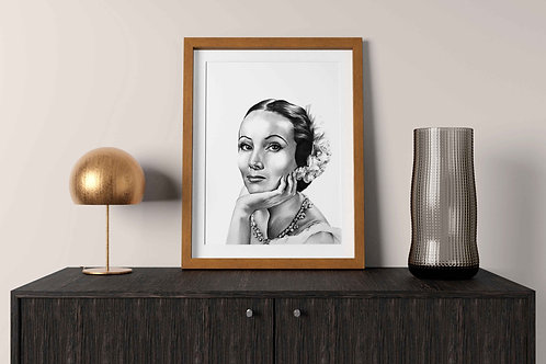 Dolores del Río Art Print