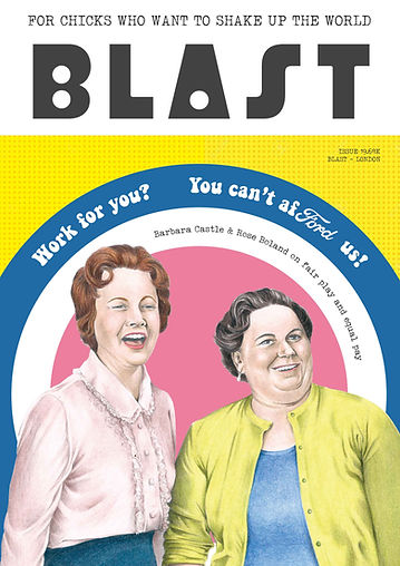 BLAST Magazine Cover