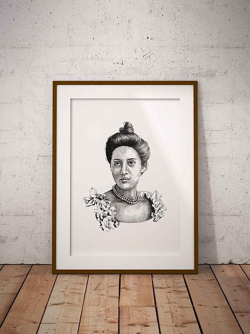 Sophia Duleep Singh Print