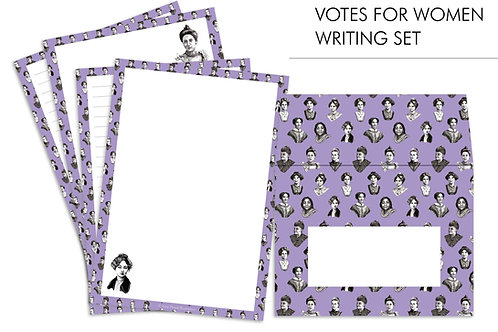 Votes For Women Suffragette Letter Writing Set