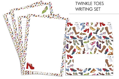 Letter Writing Set Twinkle Toes Full Set