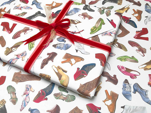 Twinkle Toes Gift Wrap Detail