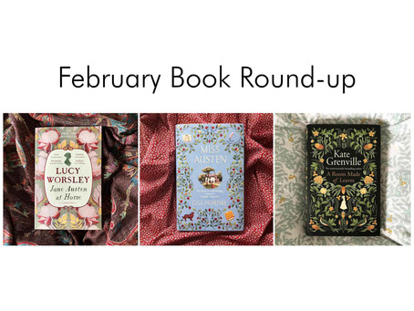February Book Round-up