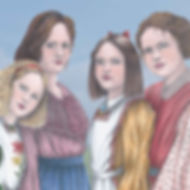Little Women Cover Illustration