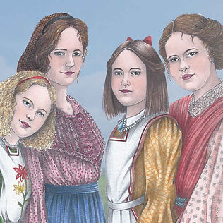 Little Women Cover Illustration