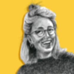 Amy Hood Illustration Self-Portrait About