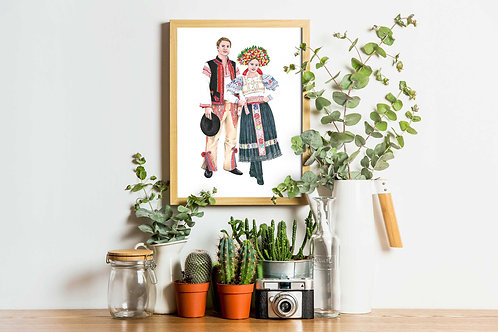 Slovakia - Costumes of the World