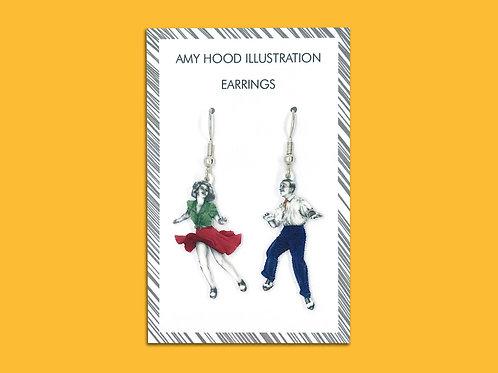 Tacky Annies Lindy Hop Earrings