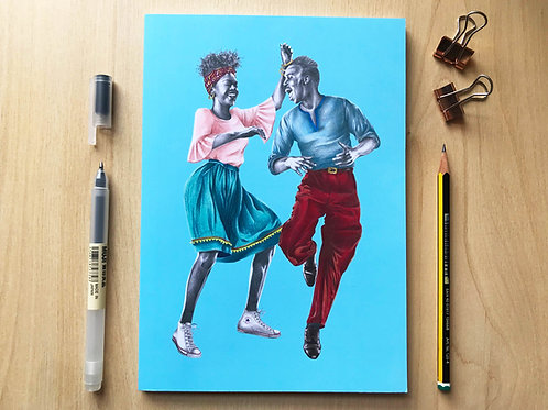 That Friday Feeling Lindy Hop Notebook