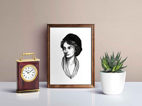 Mary Wollstonecraft Print