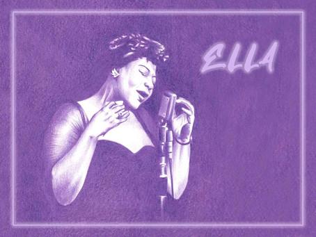 Portrait Highlight - Ella Fitzgerald - American jazz and swing singer
