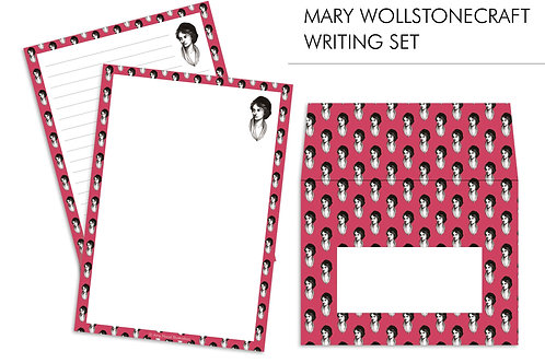 Mary Wollstonecraft Feminist Letter Writing Paper Set