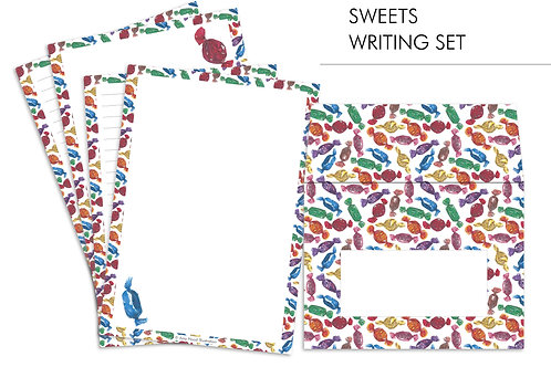 Sweets Letter Writing Paper Set