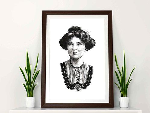 Christabel Pankhurst Art Print