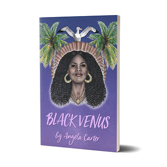Book Cover Illustration Black Venus Angela Carter