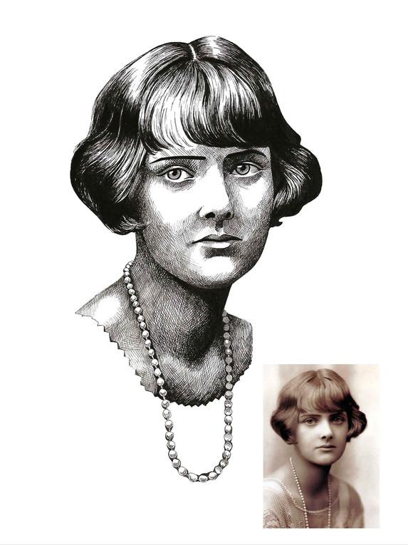 Pen Portrait - Daphne Du Maurier