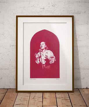 Billie Holiday Original Artwork