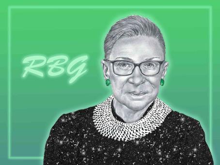 Portrait Highlight - Ruth Bader Ginsburg