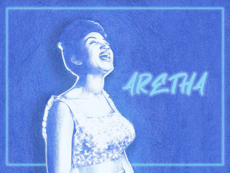 Portrait Highlight - Aretha Franklin - American singer, actress, and civil rights activist
