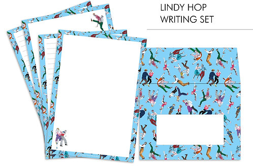 Lindy Hop Letter Writing Set