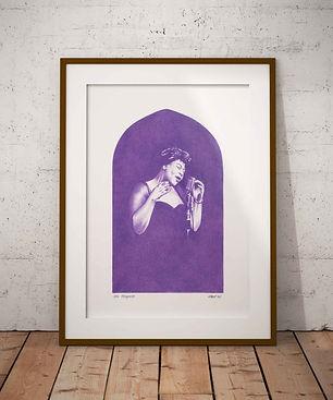 Ella Fitzgerald Original Artwork