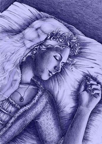 The Sleeping Mistletoe Bride