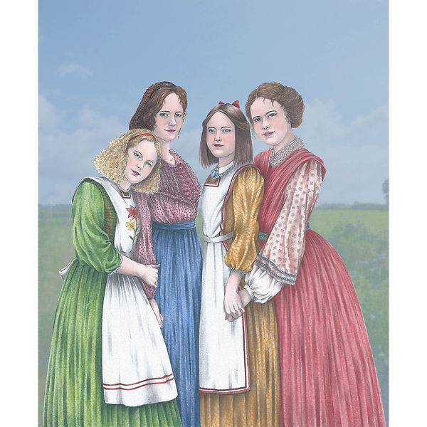 Little Women Cover Illustration, Bakur Sulakauri