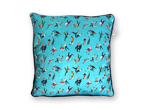 Lindy Hop Cushion Cover Front View