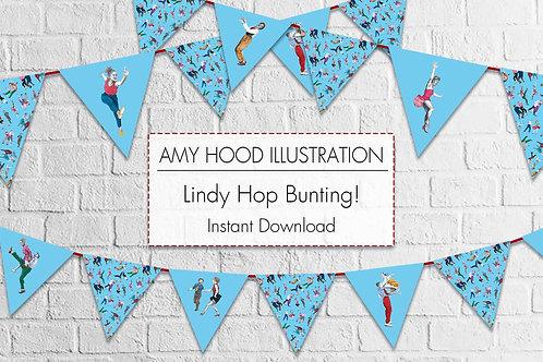 Lindy Hop Bunting Kit
