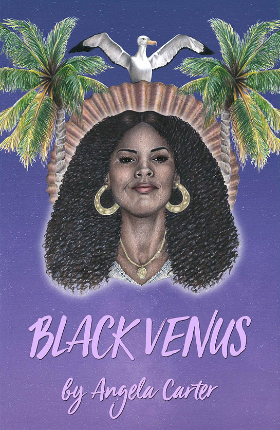 Cover Illustration Black Venus Angela Carter