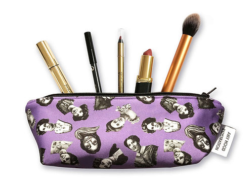 Small Votes For Women Makeup Bag Front View