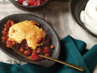 Meatless Monday: Cornbread and Pinto Bean Sheperd's Pie