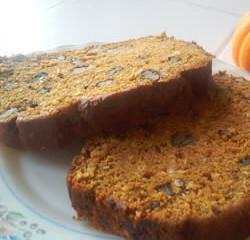 Meatless Monday - Vegan Pumpkin Bread