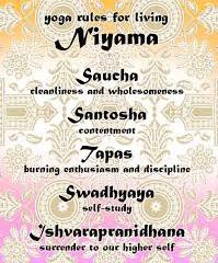 The Niyamas