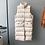 Thumbnail: Long sleeveless cotton padded vest coat