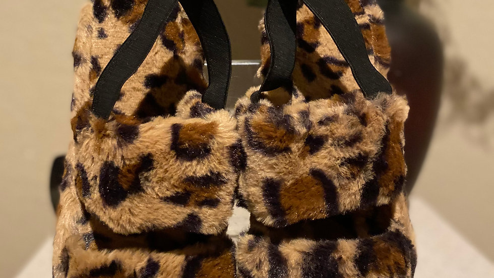 Animal Print Slippers