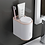Thumbnail: Wall Mount Automatic Toothpaste Dispenser Bathroom Accessories Set