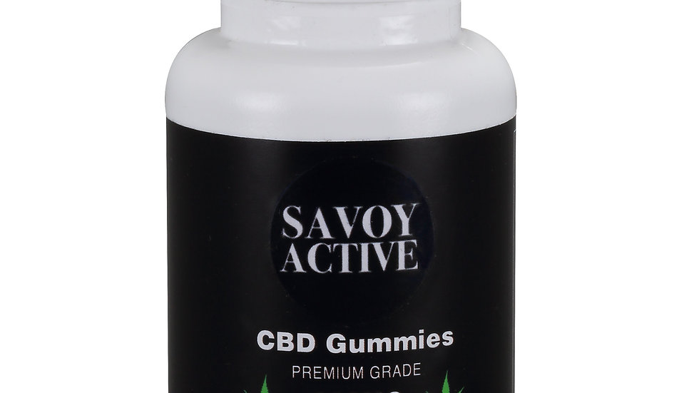 CBD Gummies - Isolate - Premium Grade - 100% Natural - 200MG CBD - 20 Gummies