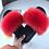 Thumbnail: Cute Plush  Hair Fluffy Sandals Women's Fur Slippers Winter Warm Slippers